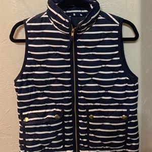 J CREW Striped Vest Size XS